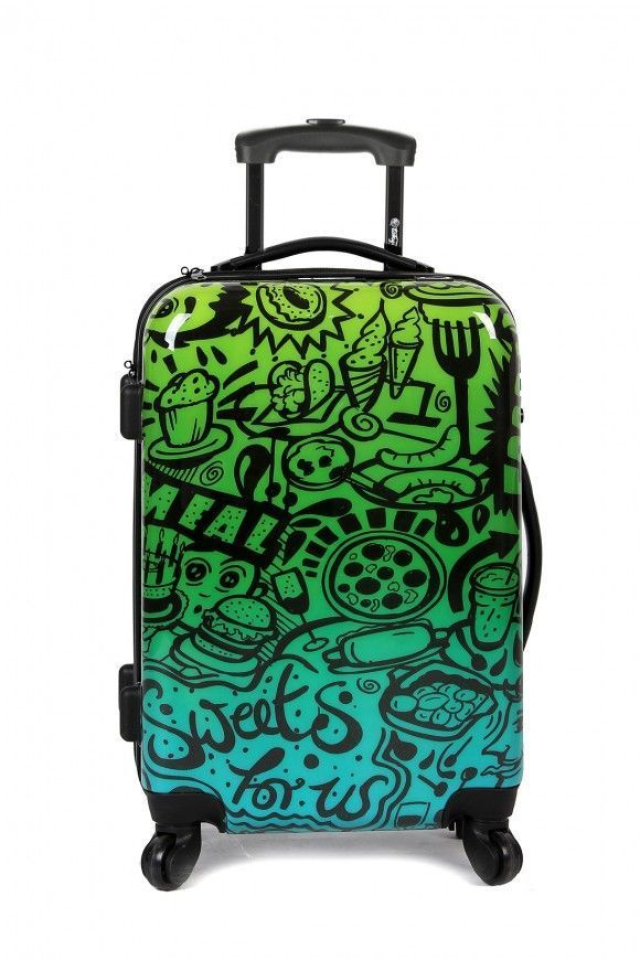 Hand Cabin Luggage COMIC BLUE
